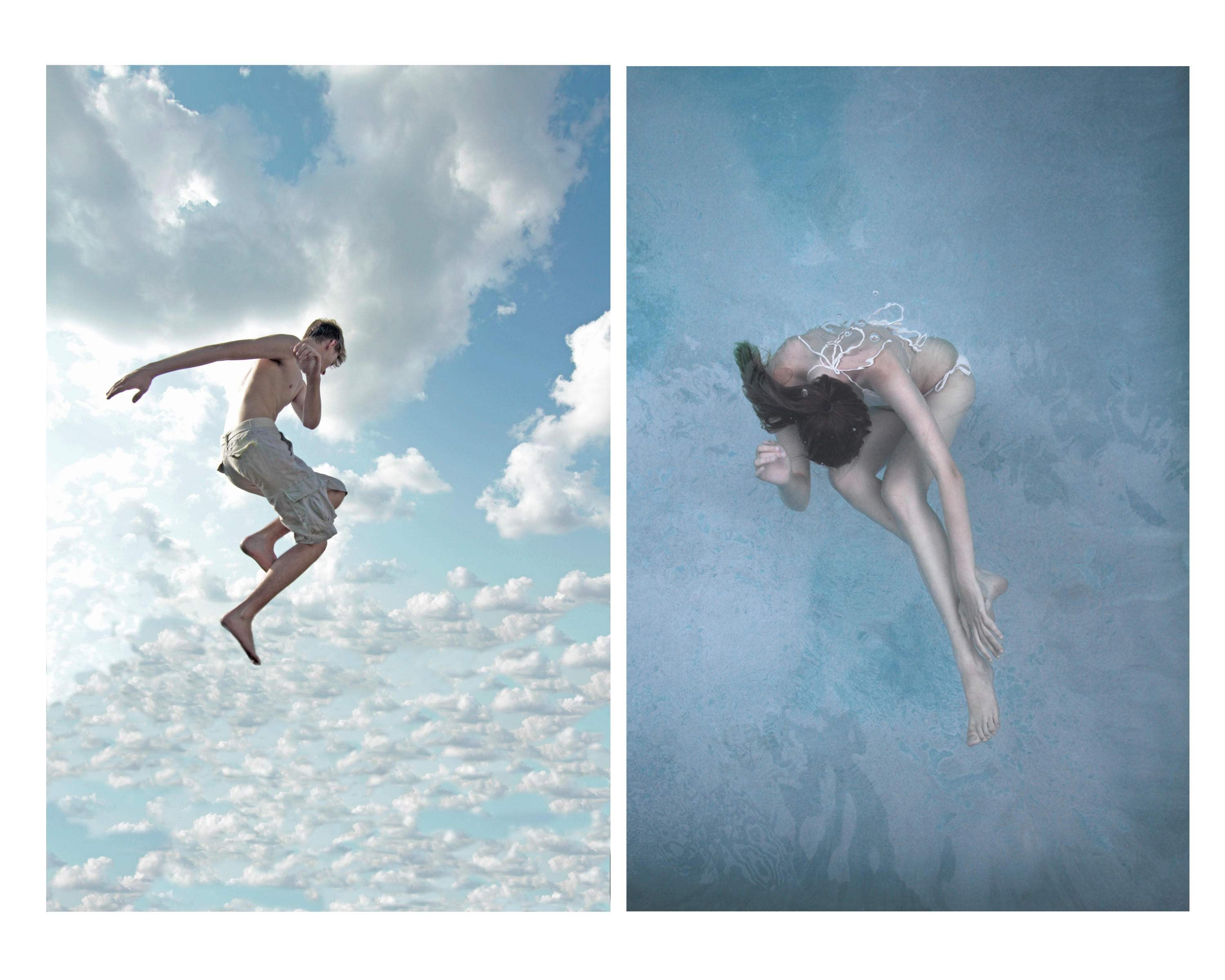 "Dana Freeman, ""Sky/Water, 2013"", digital photograph"